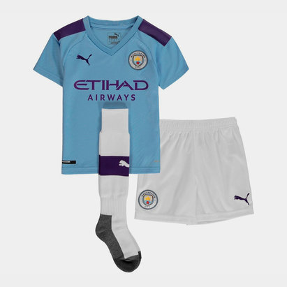 Puma Mini kit de Football, Manchester City Domicile 2019/2020