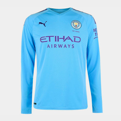 Puma Maillot de Football manches longues, Manchester City Domicile 2019/2020