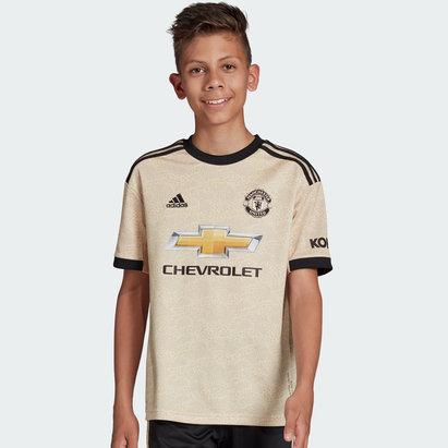 adidas Maillot extérieur Manchester United 2019/2020, pour enfants