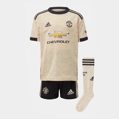 adidas Ensemble Maillot/Short extérieur Manchester United 2019/2020, pour enfants