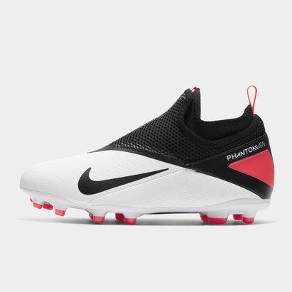 Nike Phantom Vision Academy DF FG, Crampons de Football enfants