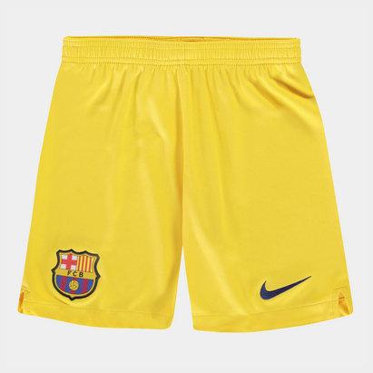 Nike Short stadium extérieur/domicile pour enfants du FC Barcelone 2019/2020