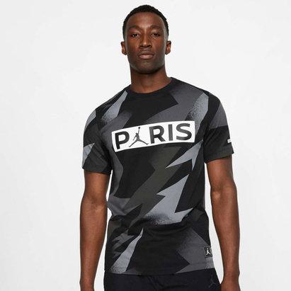 Nike T-shirt pour hommes Tag, Paris Saint germain X Jordan