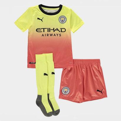 Puma Kit pour enfants, troisième tenue 2019/2020 Manchester City