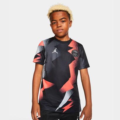 Nike Maillot pré match 2019/2020 du Paris Saint Germain, pour enfants