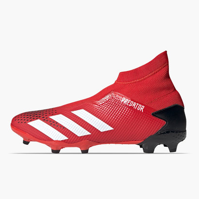 adidas Predator 20.3 FG, Crampons de Foot sans lacets pour homme