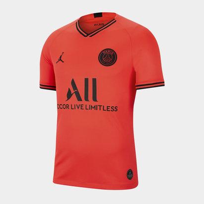 Nike Maillot de football pour hommes, Paris Saint Germain X Jordan 2019/2020 extérieur