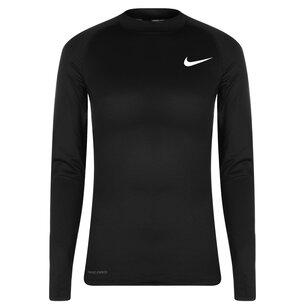 Nike Pro Warm Mock, Haut pour homme