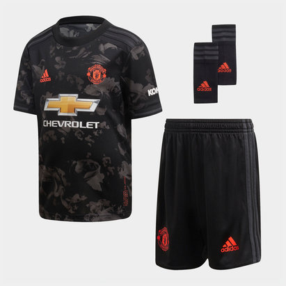adidas Kit de football pour enfant, Manchester United third 2019/2020