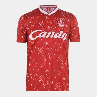 Team Maillot domicile pour hommes, Liverpool 1989/1990