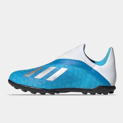adidas X 19.3 Chaussures sans lacets pour enfants, Terrains synthétique