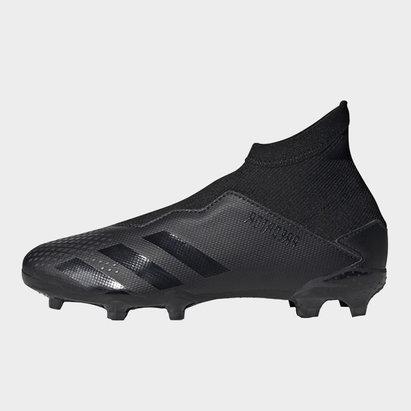 adidas Predator 20.3, Crampons de Football FG sans lacets pour enfants
