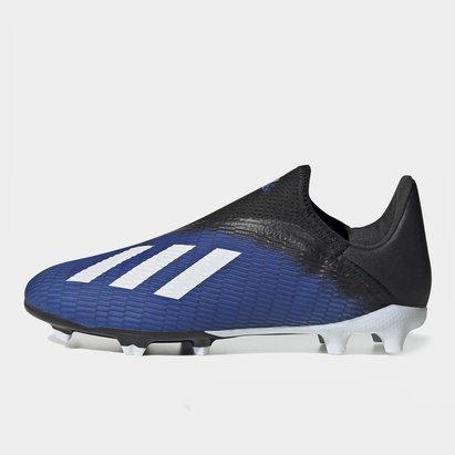 adidas X 19.3 Crampons de Football pour enfants sans lacets FG