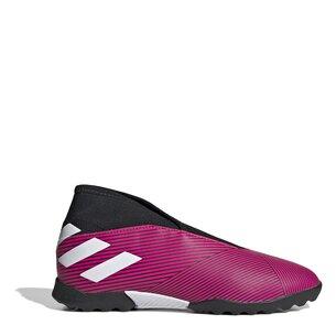 adidas Nemezis 19.3, Chaussures de sport sans lacets pour enfants, Terrain synthétique