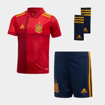 adidas Mini Kit de Football pour enfants, Espagne Domicile 2020