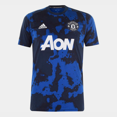 adidas Maillot pour homme Pre Match, Manchester United 2019/2020