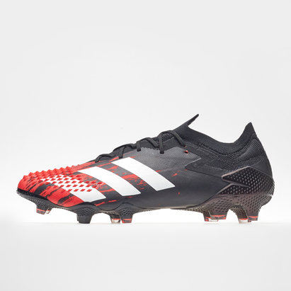 adidas Predator 20.1 Crampons de Football FG, Coupe courte