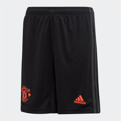 adidas Short de football Third Manchester united 2019/2020, pour ado