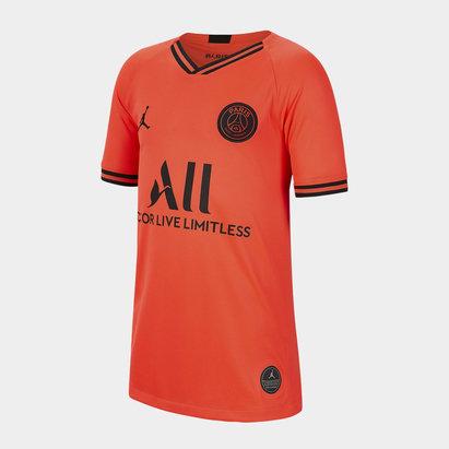 Nike Maillot de football pour enfants, Paris Saint Germain X Jordan 2019/2020 extérieur