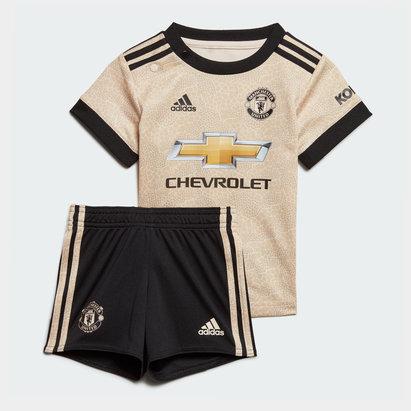 adidas Ensemble Maillot/Short extérieur Manchester United 2019/2020, pour bébé