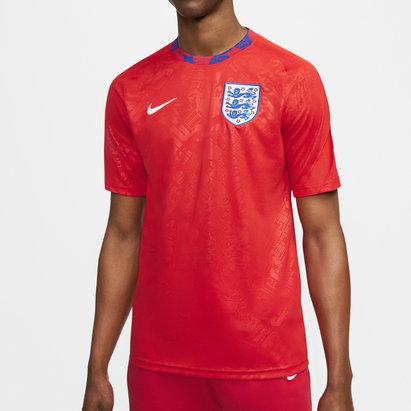 Nike England 2020 Pre Match Football Shirt
