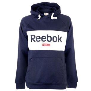 Reebok Sweatshirt OTH à capuche avec large logo en bleu marin