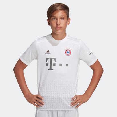 adidas Maillot de football, FC Bayern de Munich extérieur 2019/2020, pour enfants