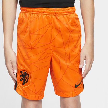 Nike Holland 2020 Kids Home Football Shorts