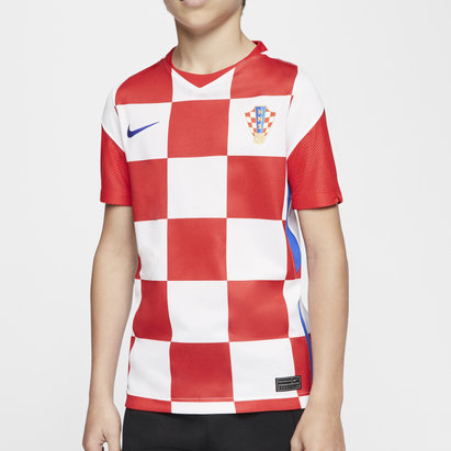 Nike Croatia 2020 Kids Home Football Shirt