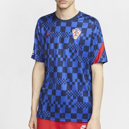 Nike Croatia 2020 Pre Match Football T-Shirt