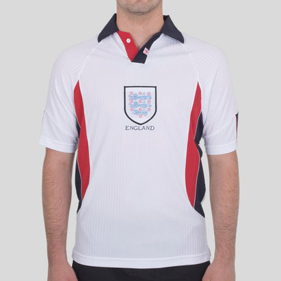 Score Draw Maillot Retro de football, Angleterre Domicile 1998