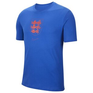 Nike England Crest T Shirt Mens