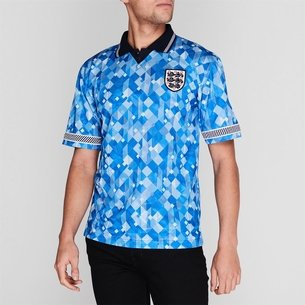 Score Draw England England 1990 Third Shirt Mens