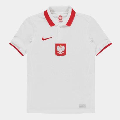 Nike Poland 2020 Kids Home Football Shirt
