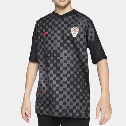 Nike Croatia 2020 Kids Away Football Shirt