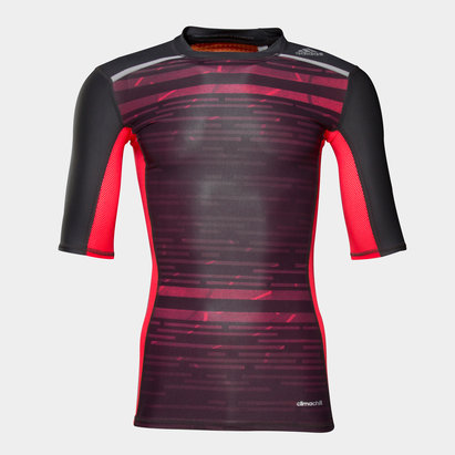 adidas Techfit CHill - Tshirt de Compression MC