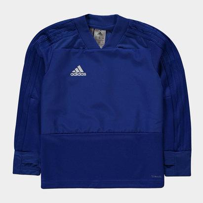 adidas Condivo, Haut bleu d'entraînement pour enfant