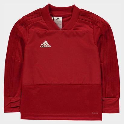 adidas Condivo, Haut rouge d'entraînement pour enfant