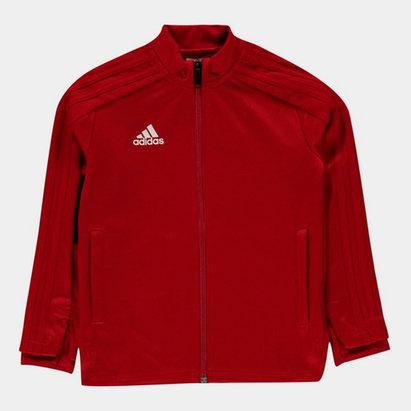 adidas Veste de Survêtement rouge pour enfants