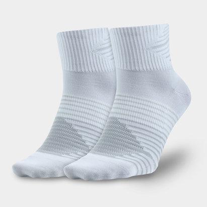 Nike Chaussettes Entraînement Légères DriFIT Quartiers - Lot de 2 Paires