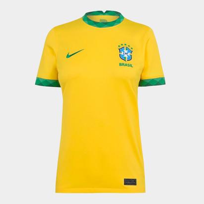 Nike Brasil 2020 Ladies Home Football Shirt