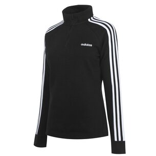 adidas 3 Stripe Zip Top Ladies