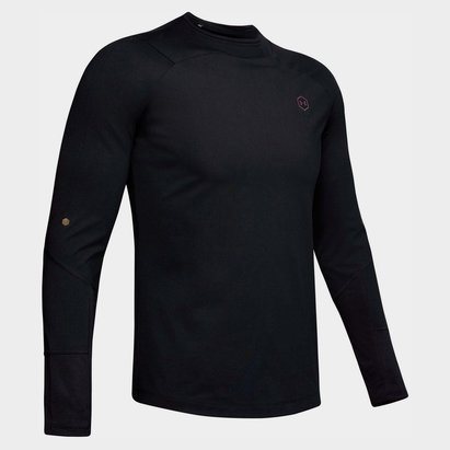 Under Armour T-shirt CoolGear Rush Mock pour hommes