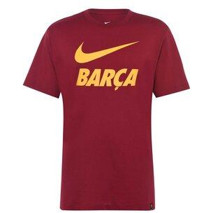 Nike FC Barcelona T Shirt Mens