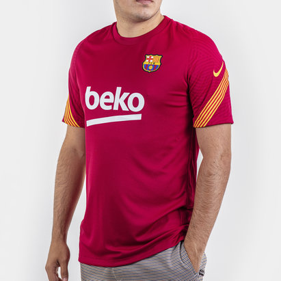 Nike FC Barcelona Strike T-Shirt 20/21 Mens