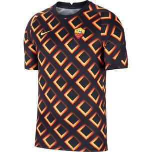 Nike AS Roma Pre Match Shirt 2020 2021 Mens