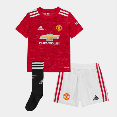 adidas Manchester United Home Mini Kit 20/21