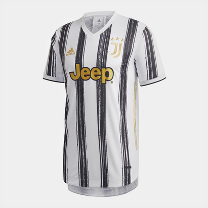 adidas Juventus Authentic Home Shirt 20/21 Mens