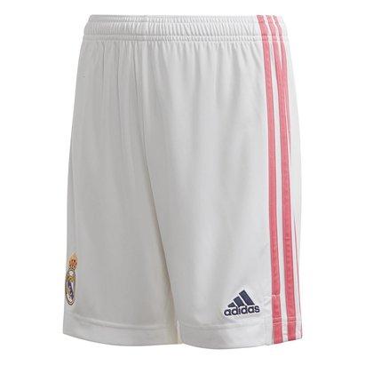 adidas Real Madrid Home Shorts 20/21 Kids