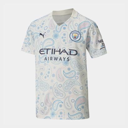 Puma Manchester City Third Shirt 20/21 Kids